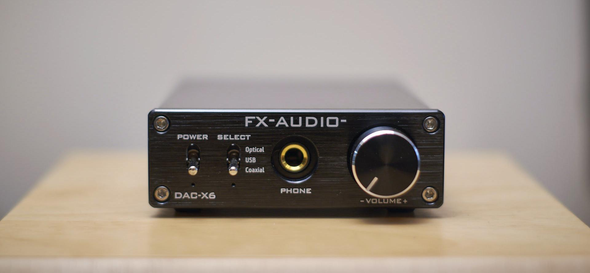 FX Audio DAC-X6 review