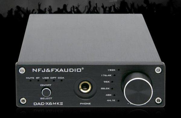 FX-Audio DAC-X6 MKII version announced