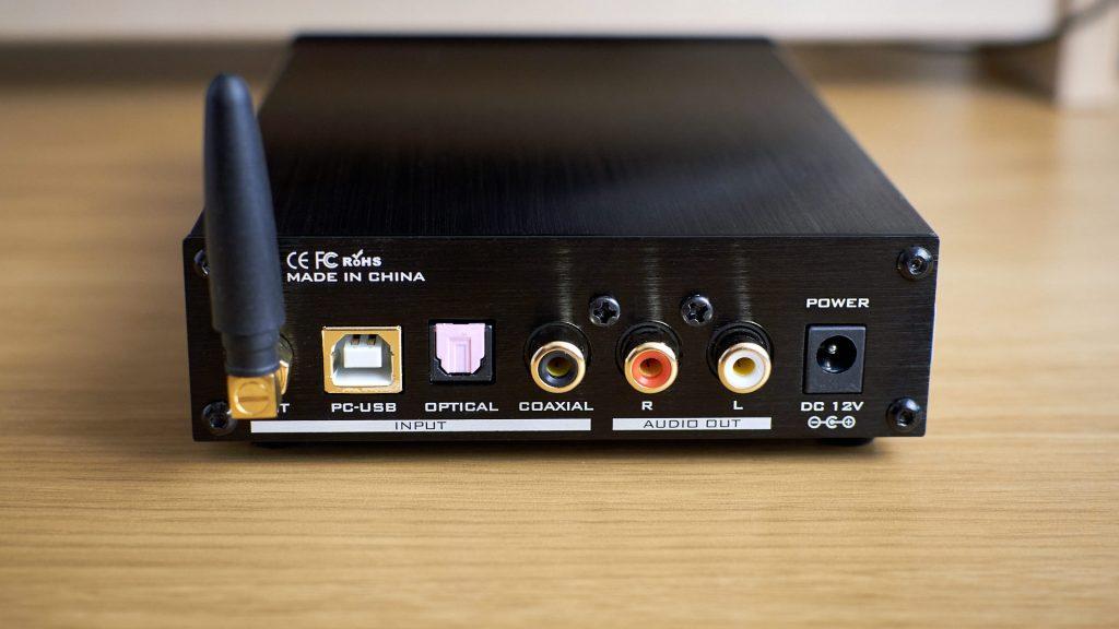 FX Audio X6 MKII rear panel