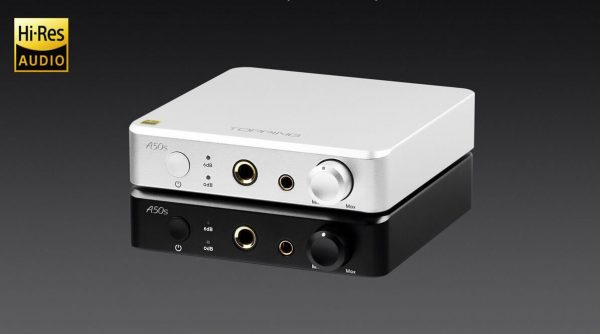 TOPPING A50s Balanced Headphone Amplifier & Preamplifier Announced